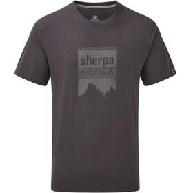 Sherpa Khangri Miehet Lyhythihainen paita , harmaa